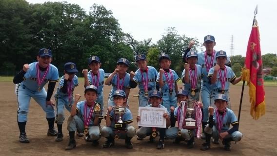 Bチーム、藤沢市学童野球春季大会Ⅱ部で優勝!